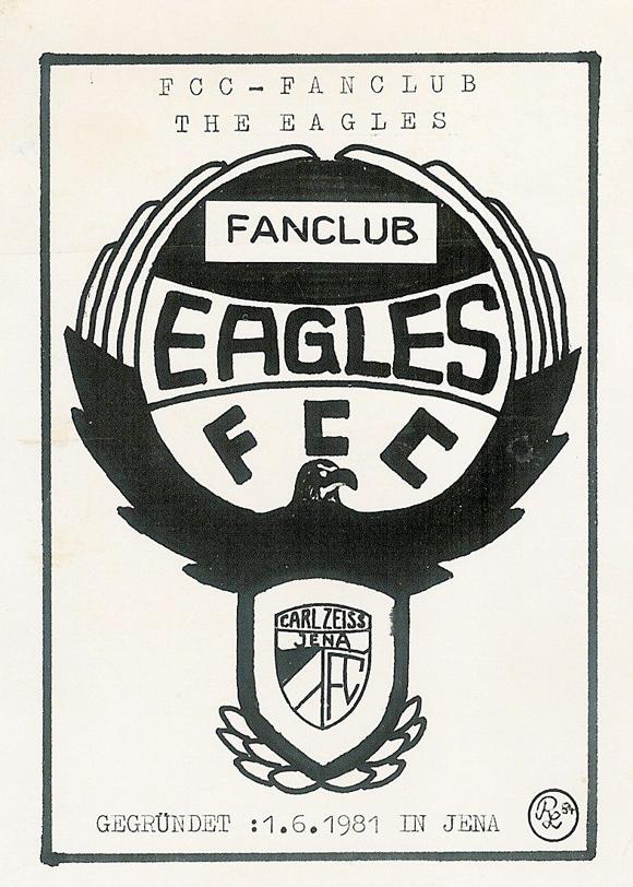 Eagles Mitgliedsausweis 1981